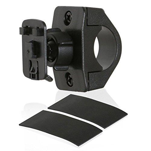 Wicked Chili Ersatz Fahrradhalterung für Tour Case - Lenker Befestigung mit Kugelgelenk (Durchmesser: 16-33 mm) schwarz, TourCase Halterung
