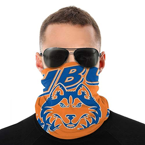 Cotton Bandana Houston Baptist Huskies Face Mask Dust Wind UV Sun Neck Gaiter Tube Mask Headwear Face Scarf Motorcycle Women Men