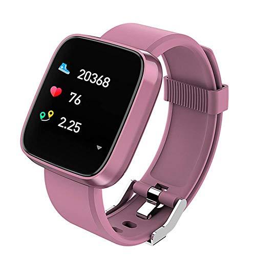 ZHINENGSHOUHUAN überwachung der intelligenten armband - runde touchscreen - sport - offline - Uhren (rosa Schwarz - Silber).