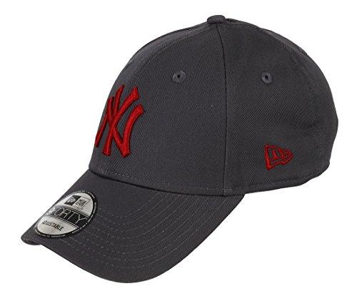 NEW ERA Uomo Cap League Essential 940NEYYAN, 80337644 Grau / New-York-Yankees unica