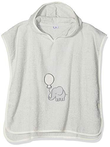 Playshoes meisjes badstof poncho olifant badjas
