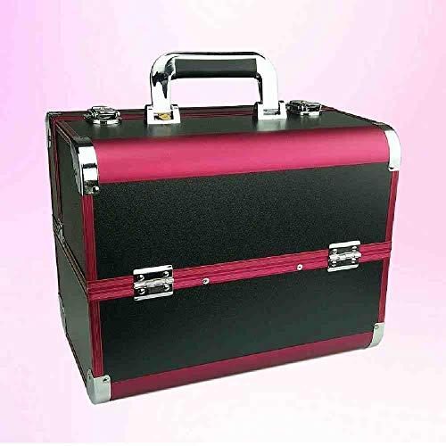 OYHBGK Bolsa de cosméticos portátil maletas maquillaje belleza profesional multifunción cosmetología tatuaje...