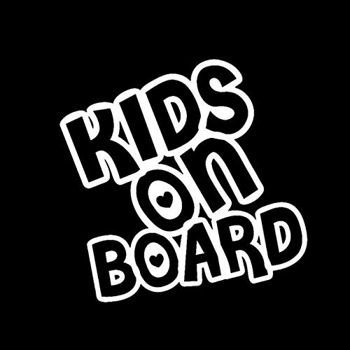 Wiedergeburt Aufkleber Auto Auto-Aufkleber Baby Kids On Board 15 * 14.6cm Funny Car Aufkleber Reflektierende 3D Aufkleber auf Auto Warnzeichen Vinyl Car Styling (Color Name : Silver, Size : 1pcs)