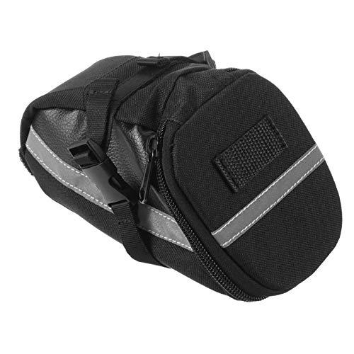 Lzcaure Sillín de bicicleta bolsa 16 en 1 kit de herramientas de reparación de bicicleta bolsa de bicicleta silla de montar trasero bolsa de transporte alforja bicicleta MTB Accesorios