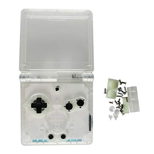 Xingsiyue Trasparente Alloggio Guscio Custodia Conchiglia Sostituzione per Gameboy Advance SP GBA SP Console