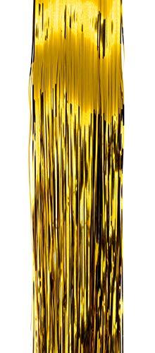 Helmecke & Hoffmann * Lametta Folien-Lametta metallisch-glänzend Baumschmuck Baumbehang *glatt* (Gold)