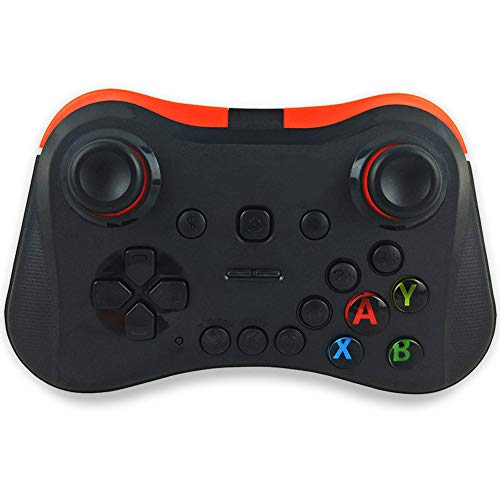 Captiankn Bluetooth gamepad-controller, snelle respons, comfortabele grip voor Android/iOS Tablet PC/TV Box, blue