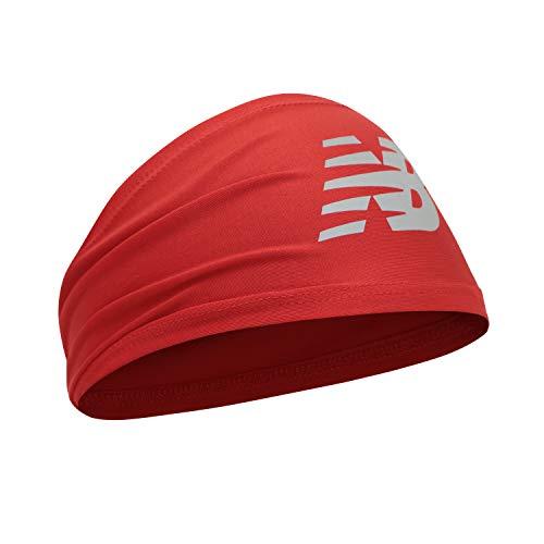 New Balance Men's and Women's Skull Cap Beanie, Athletic Headband Red