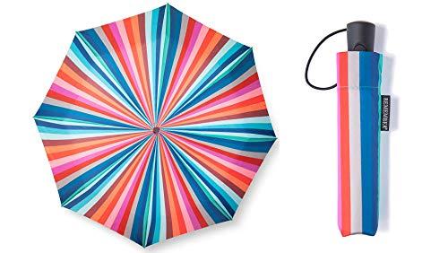 Remember Taschenschirm | RS13 | 'San Remo' | Regenschirm mit 1 Meter Durchmesser | bunt