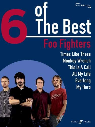 Foo Fighters 6 Of The Best guitare Tab.