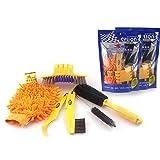 SADA72 Kit de limpieza para bicicleta, 6 cepillos limpiadores de...