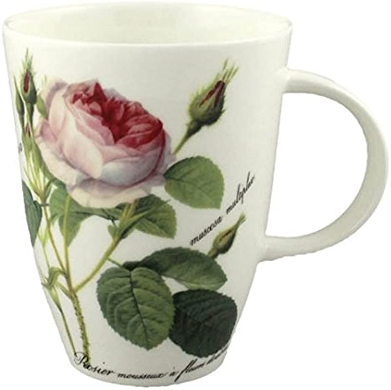 Roy Kirkham Redoute Rose Mug Louise