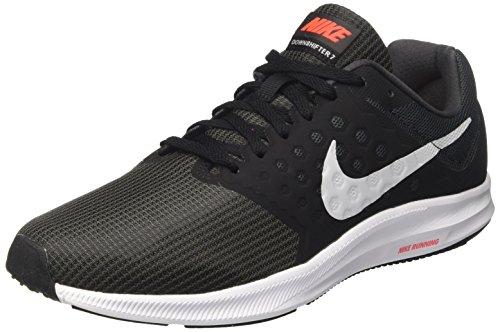 Nike Downshifter 7, Zapatillas de Running para Hombre, Gris (Anthracite/Pure Platinum/Black/Bright Crimson), 44.5 EU