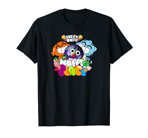 The Amazing World of Gumball Happy Place Maglietta