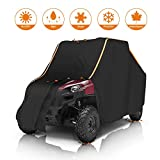 Cover for Ranger, UTV Storage Cover with Rlective Strip Replacement for Polaris Ranger RZR 570 700 800 900 S 1000 XP Protect Your SxS Vehicle from Rain, Snow, Dirt, Debris and Damaging UV Rays