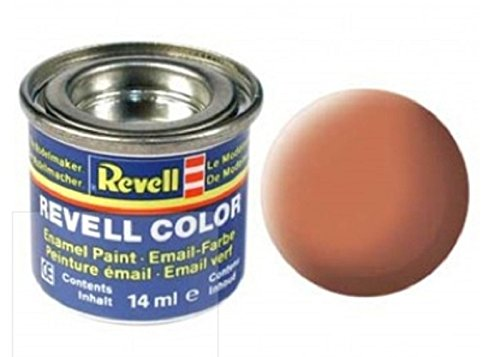 Revell Emaille-Farbe, 14 ml, Leuchtend orange matt