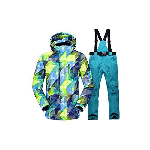 DIAOD New Ski Traje Hombres Invierno Nuevo al aire libre Aprecio A prueba de viento A prueba de agua Pantalones de nieve Hombre Pantalones de nieve Sistemas de esquí y snowboard Chaqueta de esquí Homb