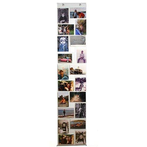 Fotovorhang,Fotohalter mit 20 Taschen für Fotos im Format 10 x 15 cm