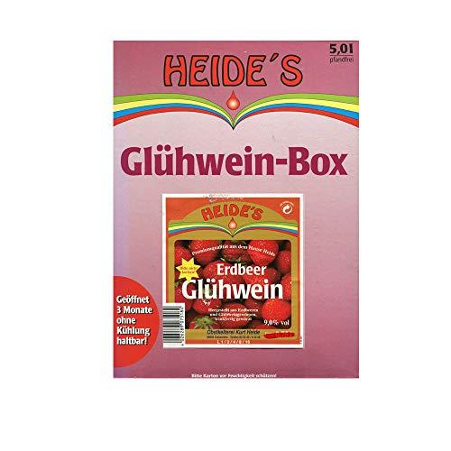 Erdbeer-Glühwein 9,5% Alc, 5 Liter