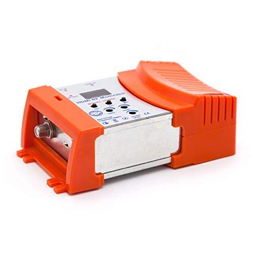 Modulatore Hdm68 Modulatore Digitale RF Hdmi VHF Uhf Frequenza Pal/Ntsc Standard Arancione (Orange)