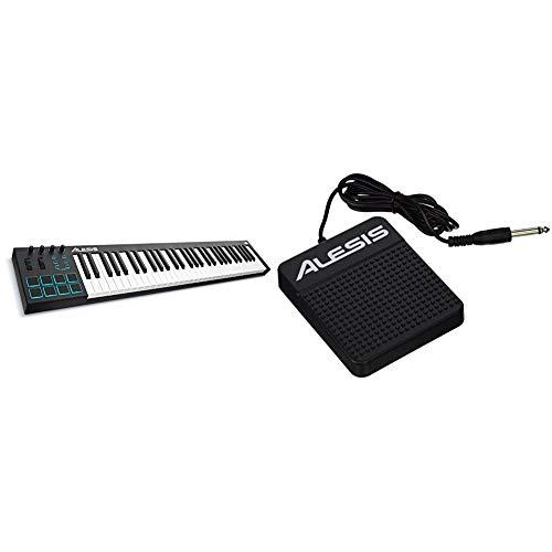 Alesis V61Teclado controlador USB-MIDI de 61 teclas con 8 pads...