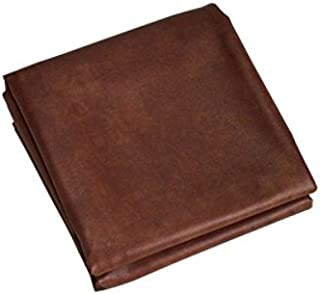 Brown Heavy Duty Leatherette Pool Table Cover - Billiard Table Cover, (Choose 7ft, 8ft, 9ft)