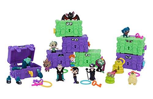 Hotel Transsilvanien Monster Mayhem Serie 1 98009 - Minifigur zum Sammeln, Schatztruhe als Überraschungsbox, enthält Sammelfigur, Schlüssel und Sammelheft