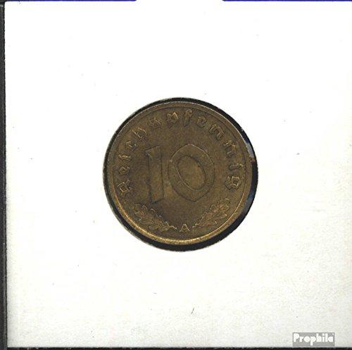 Deutsches Reich Jägernr: 364 1938 A sehr schön Aluminium-Bronze sehr schön 1938 10 Reichspfennig Reichsadler (Münzen für Sammler)