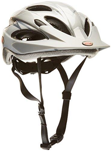 Bell Fahrradhelm Piston, white/silver dagger, 54-61 cm, 210065001