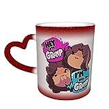 Game Grumps Hey I'm Grump One Piece Magic Color Change Coffee Mug in The Sky, tazza in ceramica sensibile al calore