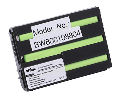vhbw Akku kompatibel mit Siemens C25, C28, C25 Power, C2588, C25e Handy Smartphone Handy (700mAh, 3,6V, NiMH)