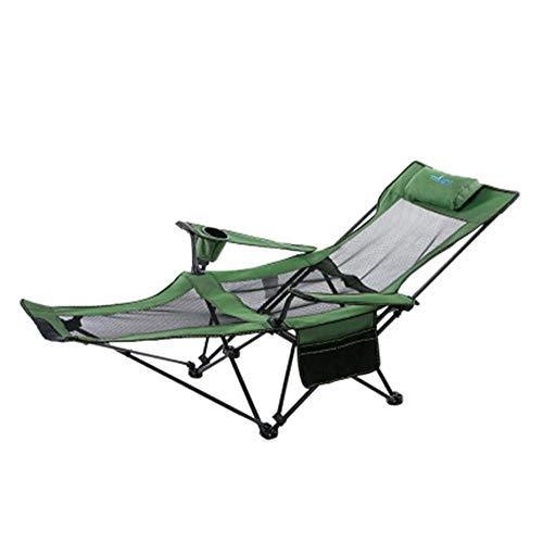 Silla Plegable Ligera Silla Plegable Cubierta, Conveniente for al Aire Libre, Playa, terraza, Silla de Playa con toldo y Titular de la Copa
