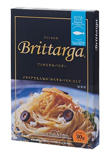 ブリッタルガ パウダー 佐伯産ぶりの真子のカラスミ 30g×4袋セット 鶴見産つるみの磯塩使用