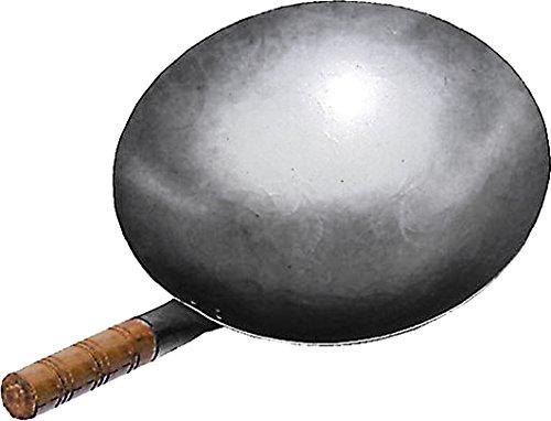 JADE TEMPLE 17056 Wok, Eisenpfanne,grau 14.5 x 51 x 30.5 cm