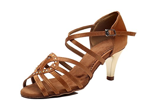 MGM-Joymod , Damen Jazz & Modern , Braun - Brown/6.5cm Heel - Größe: 42