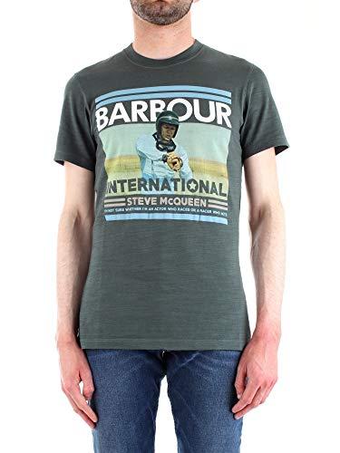 Barbour BATEE0364 T-Shirt Mann Grun S