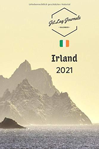 Irland Kalender 2021: Wochenplaner 2021 • Irland Geschenk • Kalender Landschaften • Irland Monatskalender und Wochenkalender 2021 • Bildkalender (Taschenkalender Europa, Band 1)