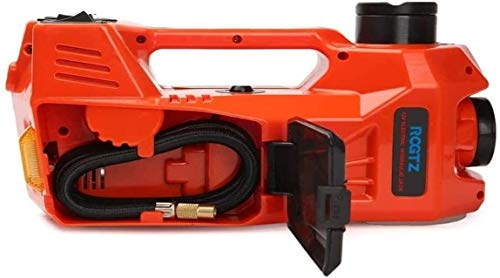 KDKDA Electric Car Piano Jack Set 3 TON all-in-One Automatico 12v Scissor Lift Jack Ideale for Il Veicolo di Riparazione, Pneumatici Sostituzione efficiente Potente for Tire Change & Replacement