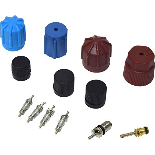Universal Air Conditioner UAC (VC 2903C) A/C System Valve Core and Cap Kit