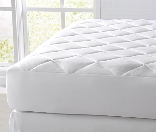 Great Bay Home Cooling Mattress Pad. Extra Plush Hypoallergenic Topper with Cooling Fibers That...