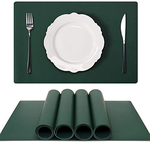 GOYSLER Silicone Placemats Heat Resistant Table Mats Waterproof Table Cover Protector Non Slip product image