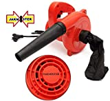 JAKMISTER 600 W, 70 Miles/Hour Unbreakable Plastic Electric Air Blower Dust PC Vacuum
