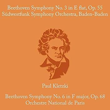 Beethoven:  Symphony No.3 in E Flat & Op. 55 & Symphony No. 6 in F Major, Op. 68
