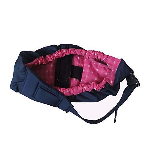 GOGOGO-Porte-bébé en coton épais Sac de bébé Pratique Pour enfant nouveau-né Confortable et pratique Plaid rouge