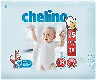 Chelino Fashion & Love, Talla 5, Pack de 6x30 (180 pañales)