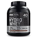 Optimum Nutrition Hydro Whey, Whey Protéine Isolate Hydrolisé en Poudre pour Musculation, Source Naturelle de BCAA, Saveur Chocolat au Lait, 40 Portions, 1,6 kg, l'Emballage Peut Varier