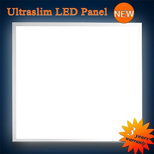 Mextronic LED Panel Deckenpanel Wandpanel Ultraslim LED Panel Warmweiß 3200LM 40W 62x62CM dimmbar