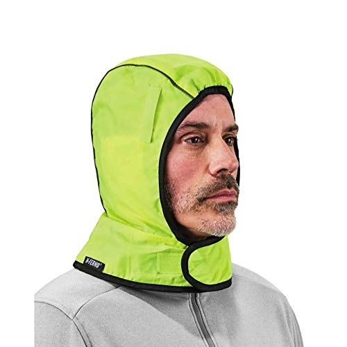 Winter Hard Hat Liner, High Visibility, Thermal Fleece Lined, Ergodyne N-Ferno 6842HV