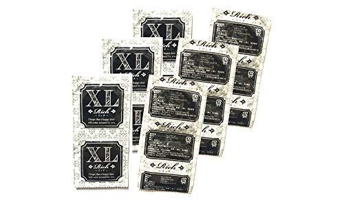 業務用コンドームお試しパック 12個入り Rich リッチ XLサイズ│12枚入り 業務用スキン 小分け バラ売り
