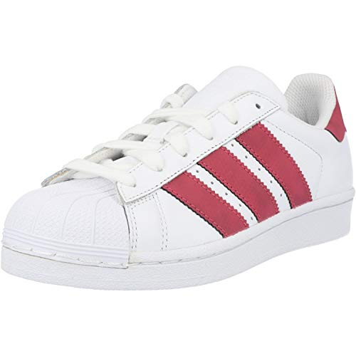 adidas Superstar J, Scarpe da Ginnastica Basse Unisex-Bambini, Bianco (White Cq2690), 35.5 EU